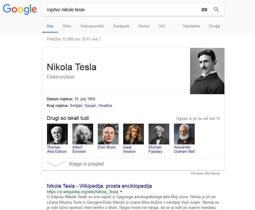 google-okvirji
